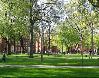 Harvard College - Freshman dormitories in Harvard Yard