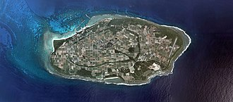 Hateruma - Aerial view of Hateruma