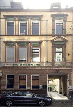 Brunnenstraße in Düsseldorf