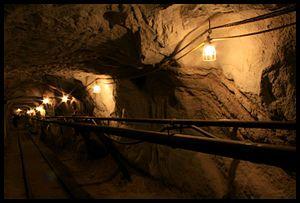 Black Diamond Mines Regional Preserve - Inside the Hazel-Atlas Mine at Black Diamond Mines Regional Preserve. Photo by Heather Grimes. September 30, 2012.