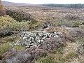 Heap of stones beside Balnaguard Burn - geograph.org.uk - 1545855.jpg