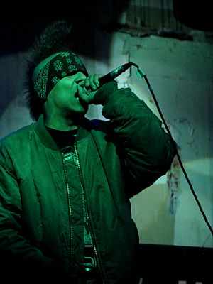 Hed PE - M.C.U.D. with Hed PE in Lviv, Ukraine in 2012.