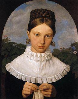 Heinrich Maria von Hess - Portrait of Fanny Gail - WGA11384