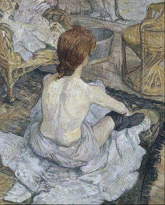 La Toilette (Toulouse-Lautrec) - Image: Henri de Toulouse Lautrec Rousse Google Art Project