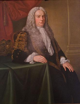 Henry Boyle, 1st Earl of Shannon - Stephen Slaughter, Henry Boyle, 1st Earl of Shannon, in Ballyfin Demesne