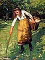 Henry Herbert La Thangue - Gathering Wool.jpg