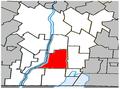 Henryville Quebec location diagram.PNG