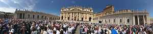 Elizabeth Hesselblad - Canonization Mass on 5 June 2016.
