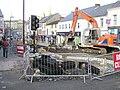 High Street, Omagh dug up.. - geograph.org.uk - 144595.jpg