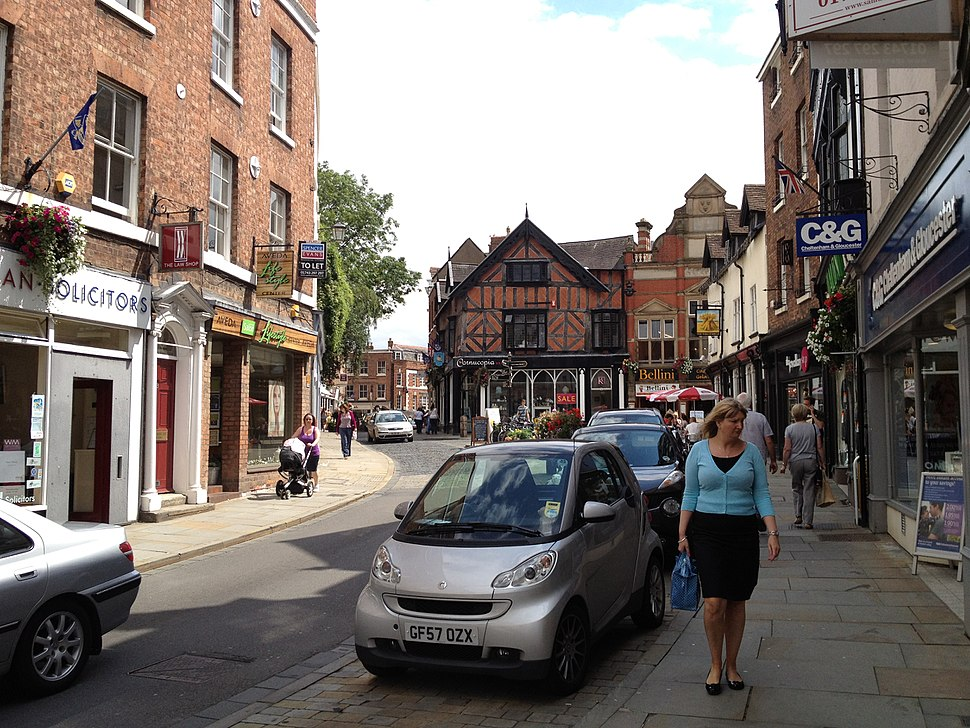 High Street, Shrewsbury
