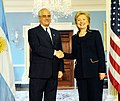 Hillary Clinton meets with Argentine Minister of Foreign Affairs Jorge Taiana.jpg