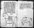 Hindi Manuscript 191, fols. 14 verso, 15 recto Wellcome L0024207.jpg