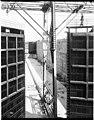 Hiram Chittenden Locks under construction, 1916 (MOHAI 5151).jpg