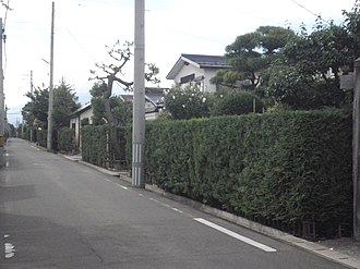 Groups of Traditional Buildings - Image: Hirosaki City Nakacho 1