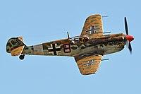 Hispano HA.1112M1L Buchon 'Black 8' (G-AWHK) (35765235266).jpg
