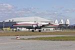 Historical Aircraft Restoration Society (VH-EAG) Lockheed Super Constellation 'Connie' taxiing at Wagga Wagga Airport (3).jpg