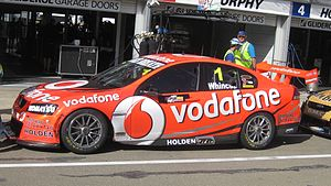 2012 International V8 Supercars Championship - Jamie Whincup won the championship drving a Holden VE Commodore