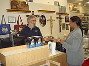 Holy Spirit Monastery gift shop