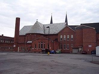 Holy Angels Church (Buffalo, New York) - Image: Holy angels church rear