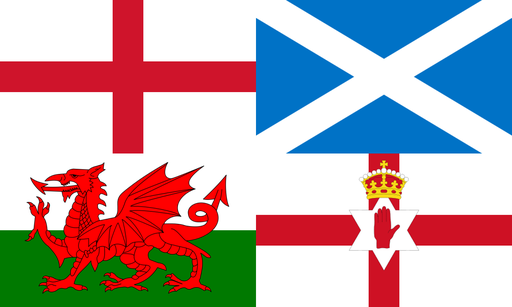 Home nations flag