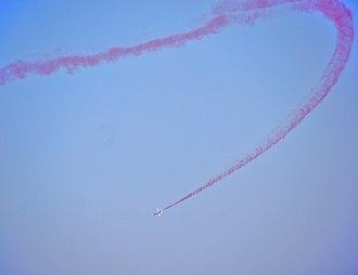 Aerobatic maneuver - Image: Hongdu K 8