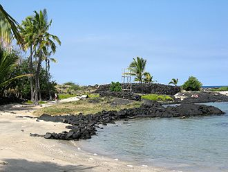 Honokōhau Settlement and Kaloko-Honokōhau National Historical Park - Image: Honokohau Heiau