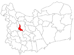 Location of Horia
