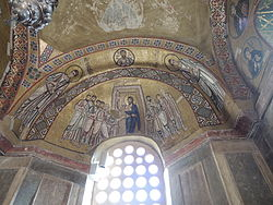 Hosios Loukas (narthex) - South wall (Doubting Thomas) 02 (October, 2014) by shakko.jpg