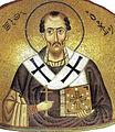Hosios Loukas (nave, south east conch) - John Chrysostom - detail.jpg