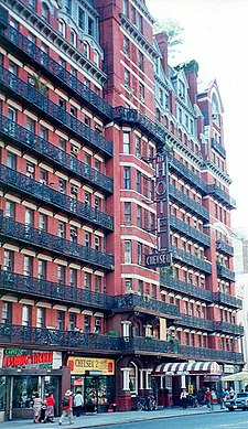 The Hotel Chelsea.