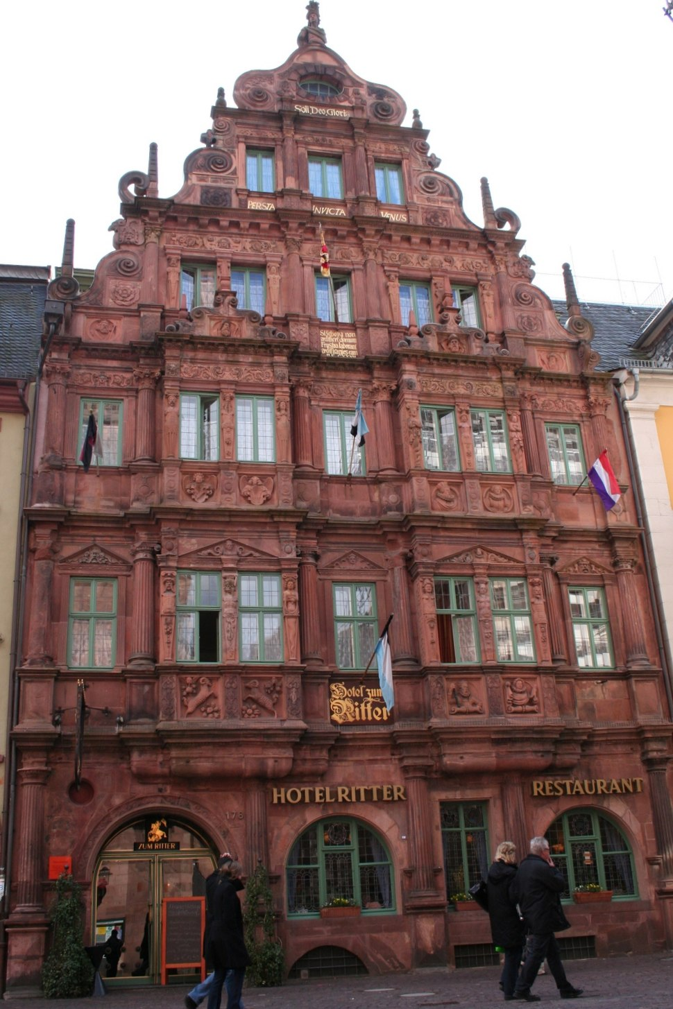 Hotel Ritter, building constructed in 1592