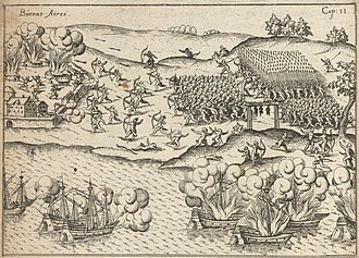Ulrich Schmidl - Illustration from Vera historia, 1599