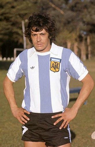 René Houseman - Houseman with Argentina in 1978