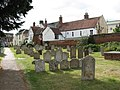 Houses adjoining St Mary's church, Bungay - geograph.org.uk - 1972008.jpg