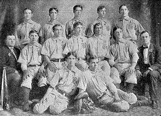 Houston Buffaloes - The 1905 Houston Buffaloes won the South Texas League title that season