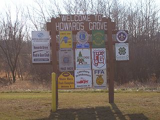 Howards Grove, Wisconsin Village in Wisconsin, United States