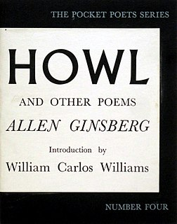 <i>Howl and Other Poems</i> Book by Allen Ginsberg
