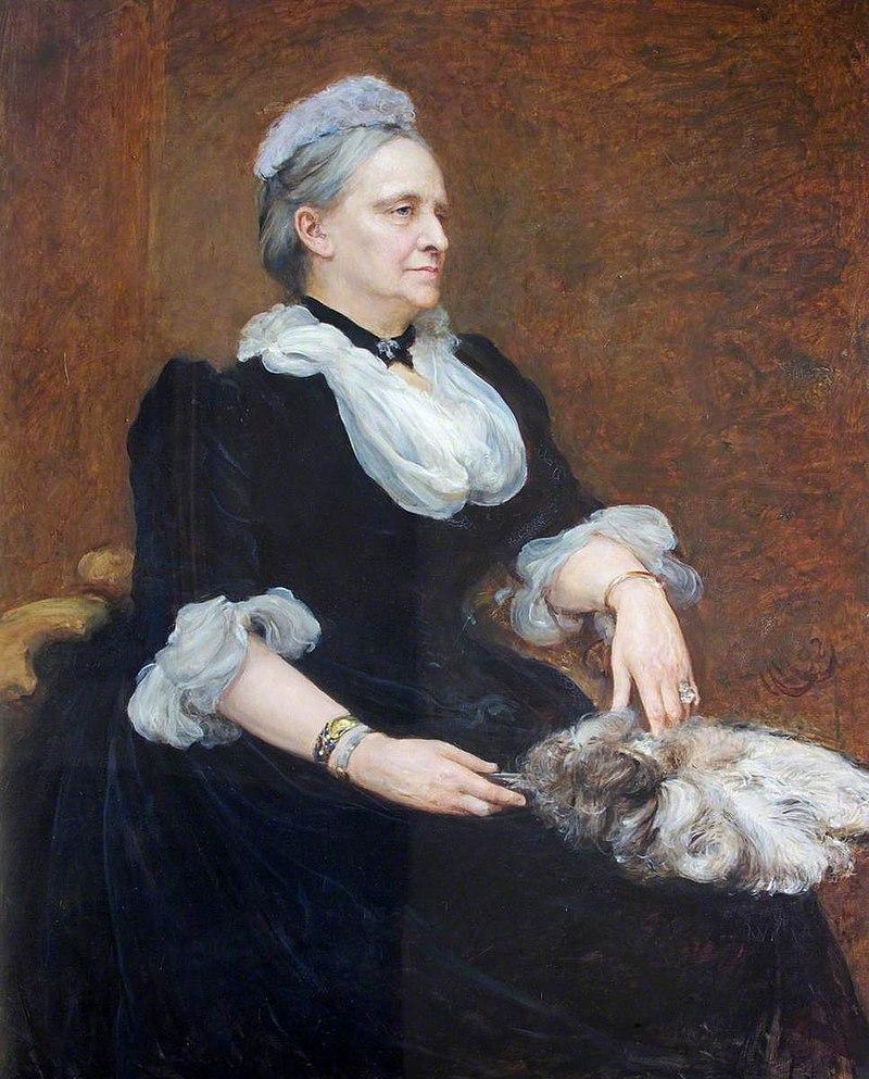 Hubert von Herkomer (1849-1914) - Charlotte Delafield (1821–1905), Mrs Richard Phelips - 597932 - National Trust.jpg