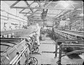 Huddersfield Cloth Mill- the work of C and J Hirst and Sons Ltd., Sunnybank, Longwood, Huddersfield, Yorkshire, England, UK, 1943 D16807.jpg