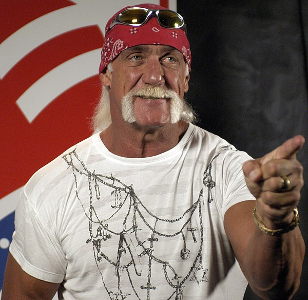 Photo Hulk Hogan via Wikidata