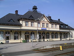 Hultsfred railway station