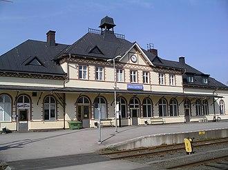Hultsfred Municipality - Hultsfred Railway Station