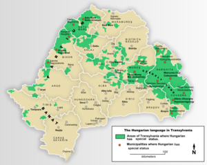 Hungarian language in Transylvania