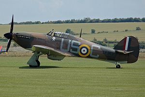 No. 1302 Flight RAF - Image: Hurricane Mk IIC LF363