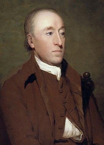 現代地質学の父、ジェームズ・ハットン