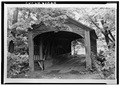 Hyde Hall, Covered Bridge, East Lake Road vicinity, East Springfield, Otsego County, NY HABS NY,39-SPRIFE,1B-1.tif