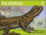 Hydrosaurus pustulatus 2011 stamp of the Philippines.jpg