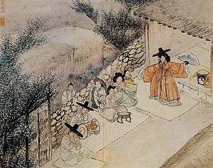 Gut (ritual) - Image: Hyewon Munyeo.sinmu