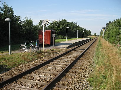 How to get to Hyllerslev with public transit - About the place