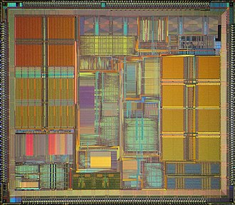 WinChip - Image: IDT Win Chip C6 die